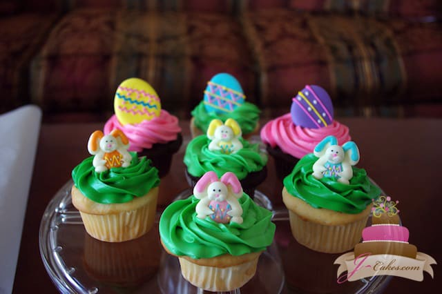 (609) Easter Cupcakes