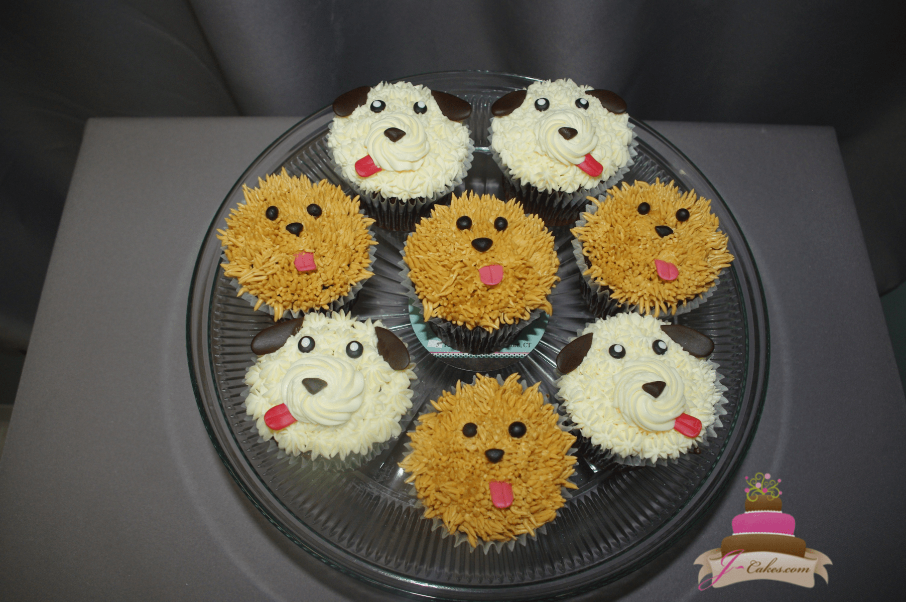 (653) Puppy Cupcakes