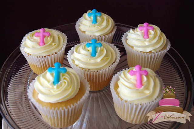 (620) Sugar Cross Cupcakes