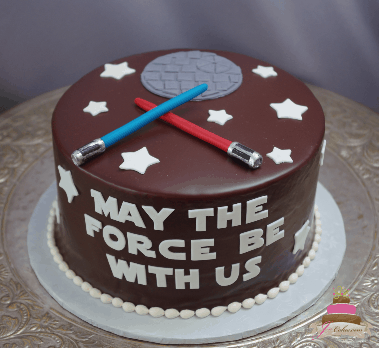 (732) Star Wars Groom's Cake