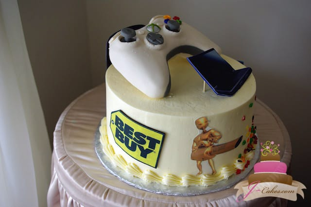 (706) X-Box Controller Groom's Cake