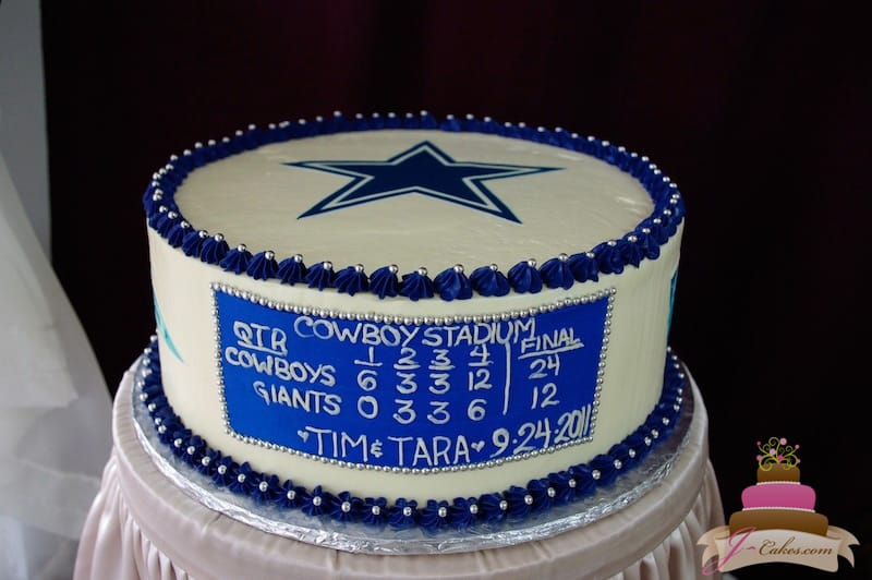 (709) Dallas Cowboys Groom's Cake