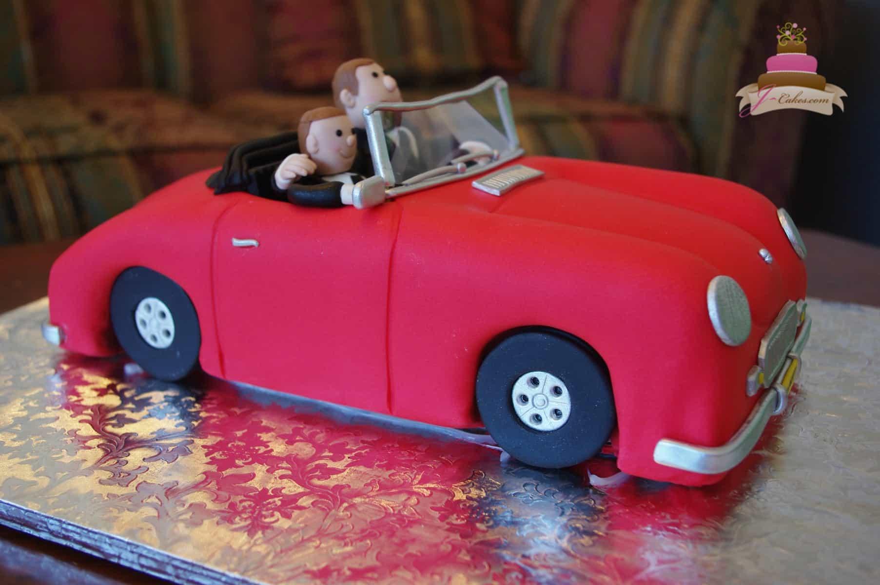 (725) Sports Car Groom's Cake