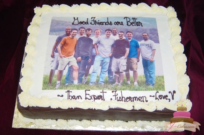 (701) Photo Groom's Cake