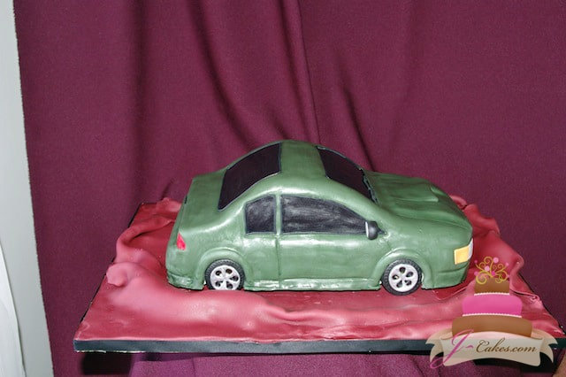 (710) Car Groom's Cake