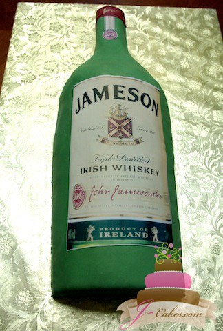 (713) Jameson Bottle Cake