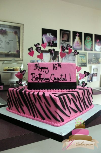 Sweet Sixteen and Quinceañera Cakes - JCakes