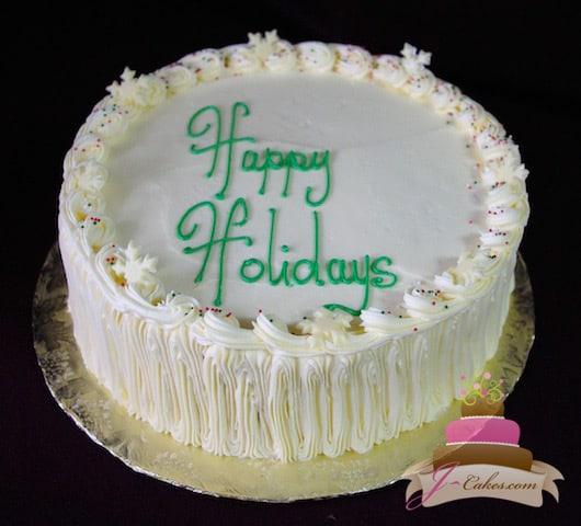 (809) Egg Nog Mousse Cake