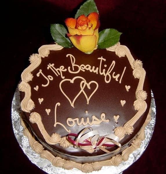 (831) Standard Anniversary Cake